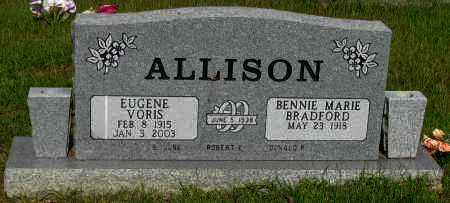 ALLISON, EUGENE VORIS - Pope County, Arkansas | EUGENE VORIS ALLISON - Arkansas Gravestone Photos
