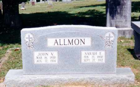 ALLMON, SARAH ELIZABETH - Pope County, Arkansas | SARAH ELIZABETH ALLMON - Arkansas Gravestone Photos