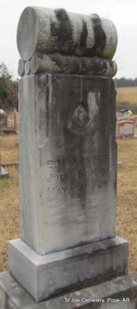 ARNOLD, E M - Pope County, Arkansas | E M ARNOLD - Arkansas Gravestone Photos