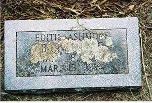 ASHMORE, EDITH - Pope County, Arkansas | EDITH ASHMORE - Arkansas Gravestone Photos