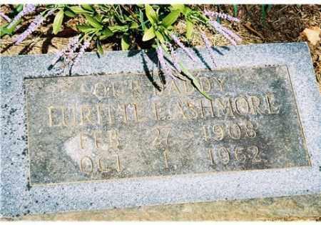 ASHMORE, EURITTE ELWOOD - Pope County, Arkansas | EURITTE ELWOOD ASHMORE - Arkansas Gravestone Photos