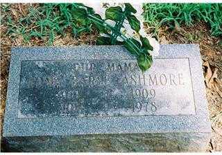 OVERBEY ASHMORE, EDNA EARL - Pope County, Arkansas | EDNA EARL OVERBEY ASHMORE - Arkansas Gravestone Photos