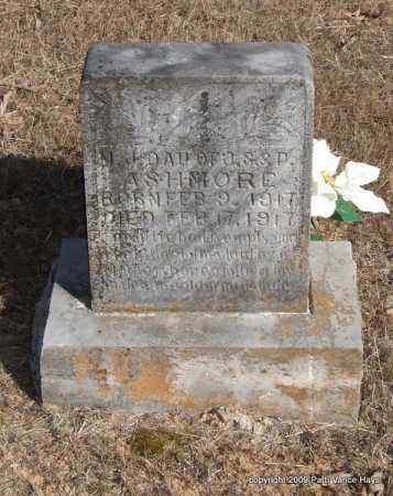 ASHMORE, M. J. - Pope County, Arkansas | M. J. ASHMORE - Arkansas Gravestone Photos