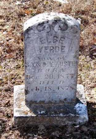AUSTIN, ELBE VERDE - Pope County, Arkansas | ELBE VERDE AUSTIN - Arkansas Gravestone Photos