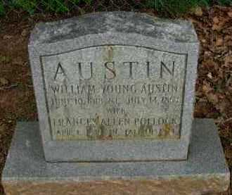 AUSTIN, WILLIAM YOUNG - Pope County, Arkansas | WILLIAM YOUNG AUSTIN - Arkansas Gravestone Photos