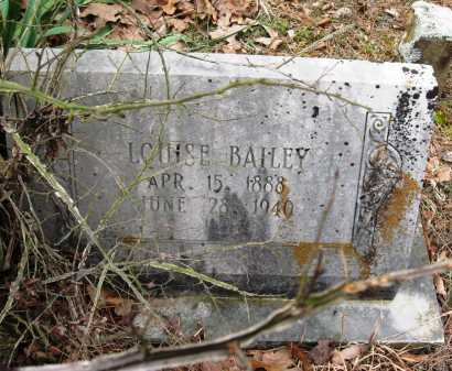BAILEY, LOUISE - Pope County, Arkansas | LOUISE BAILEY - Arkansas Gravestone Photos