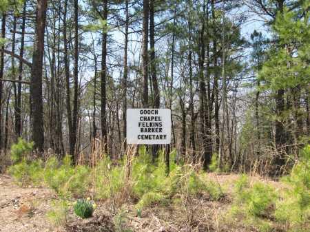 *BARKER CEMETERY SIGN,  - Pope County, Arkansas    *BARKER CEMETERY SIGN - Arkansas Gravestone Photos