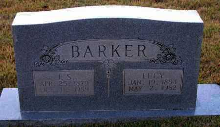 BARKER, J  S - Pope County, Arkansas | J  S BARKER - Arkansas Gravestone Photos