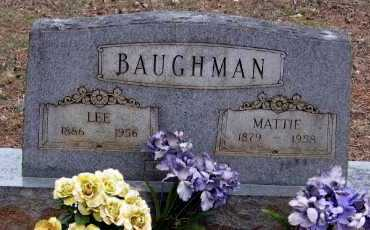 BAUGHMAN, MATTIE - Pope County, Arkansas | MATTIE BAUGHMAN - Arkansas Gravestone Photos