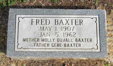 BAXTER, FRED - Pope County, Arkansas | FRED BAXTER - Arkansas Gravestone Photos