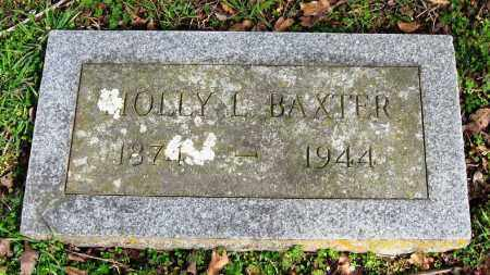 BAXTER, MOLLY L - Pope County, Arkansas | MOLLY L BAXTER - Arkansas Gravestone Photos