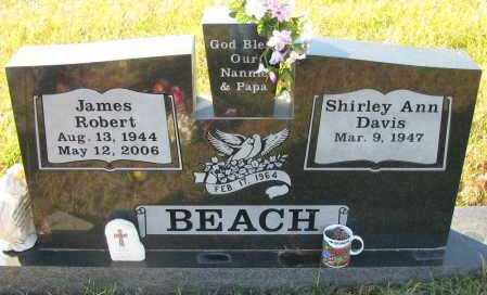 BEACH, JAMES ROBERT - Pope County, Arkansas | JAMES ROBERT BEACH - Arkansas Gravestone Photos