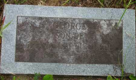 BELL, GEORGE - Pope County, Arkansas | GEORGE BELL - Arkansas Gravestone Photos