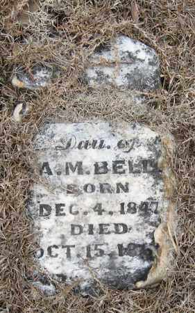 BELL, INFANT DAUGHTER - Pope County, Arkansas | INFANT DAUGHTER BELL - Arkansas Gravestone Photos