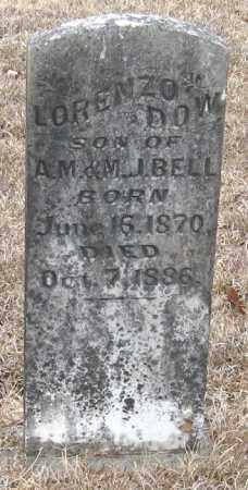 BELL, LORENZO DOW - Pope County, Arkansas | LORENZO DOW BELL - Arkansas Gravestone Photos