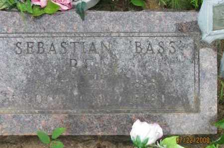 "BELL, SEBASTIAN  ""BASS"" - Pope County, Arkansas 