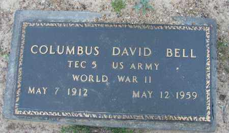 BELL (VETERAN WWII), COLUMBUS DAVID - Pope County, Arkansas | COLUMBUS DAVID BELL (VETERAN WWII) - Arkansas Gravestone Photos