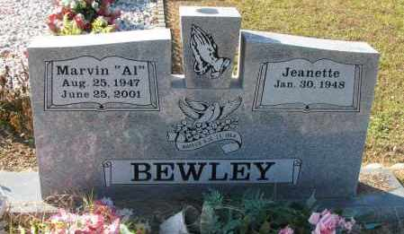 "BEWLEY, MARVIN ""AL"" - Pope County, Arkansas 