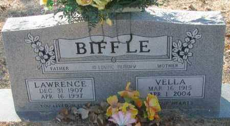 BIFFLE, LAWRENCE - Pope County, Arkansas | LAWRENCE BIFFLE - Arkansas Gravestone Photos