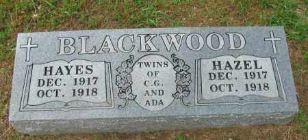 BLACKWOOD, HAYES - Pope County, Arkansas | HAYES BLACKWOOD - Arkansas Gravestone Photos