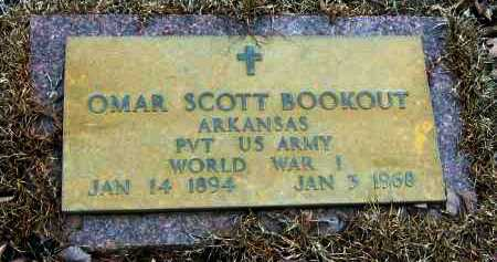 BOOKOUT  (VETERANS WWI), OMAR SCOTT - Pope County, Arkansas | OMAR SCOTT BOOKOUT  (VETERANS WWI) - Arkansas Gravestone Photos
