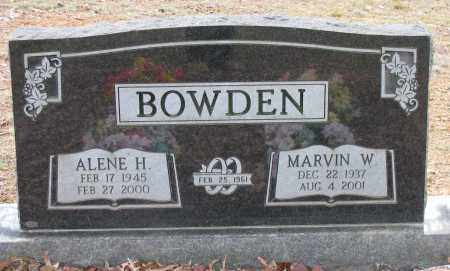 BOWDEN, MARVIN W - Pope County, Arkansas | MARVIN W BOWDEN - Arkansas Gravestone Photos