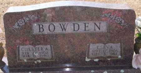 BOWDEN, CHESTER A - Pope County, Arkansas | CHESTER A BOWDEN - Arkansas Gravestone Photos