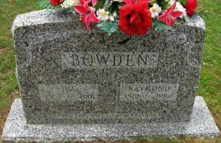 BOWDEN, RAYMOND - Pope County, Arkansas | RAYMOND BOWDEN - Arkansas Gravestone Photos