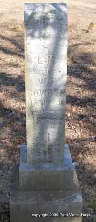 KENDRICK BOWDEN, L  M. - Pope County, Arkansas | L  M. KENDRICK BOWDEN - Arkansas Gravestone Photos