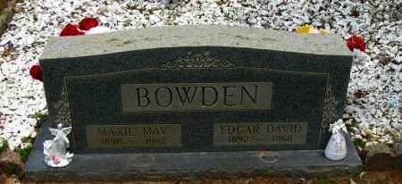 BOWDEN, MAXIE MAY - Pope County, Arkansas | MAXIE MAY BOWDEN - Arkansas Gravestone Photos