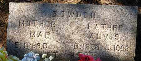 BOWDEN, MAE - Pope County, Arkansas | MAE BOWDEN - Arkansas Gravestone Photos