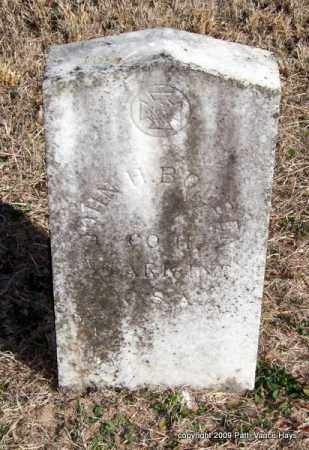 BOWDEN (VETERAN CSA), JOHN H - Pope County, Arkansas | JOHN H BOWDEN (VETERAN CSA) - Arkansas Gravestone Photos