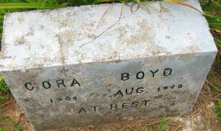 YARBER BOYD, CORA M - Pope County, Arkansas | CORA M YARBER BOYD - Arkansas Gravestone Photos