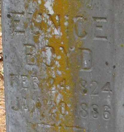 BOYD, EUNICE (CLOSEUP) - Pope County, Arkansas | EUNICE (CLOSEUP) BOYD - Arkansas Gravestone Photos