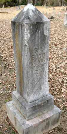 BOYD, SAMUEL A. - Pope County, Arkansas | SAMUEL A. BOYD - Arkansas Gravestone Photos