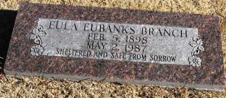 BRANCH, EULA - Pope County, Arkansas | EULA BRANCH - Arkansas Gravestone Photos