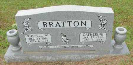 BRATTON, RUSSELL W - Pope County, Arkansas | RUSSELL W BRATTON - Arkansas Gravestone Photos