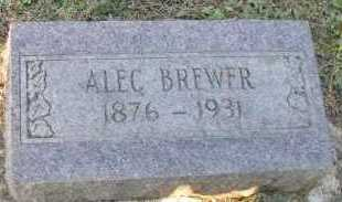 BREWER, ALEC - Pope County, Arkansas | ALEC BREWER - Arkansas Gravestone Photos