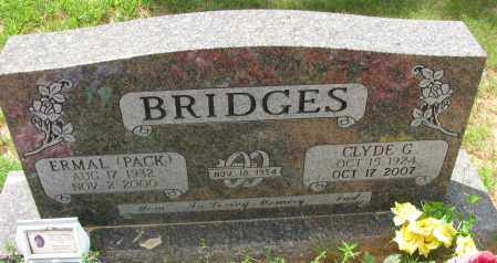 BRIDGES, CLYDE G - Pope County, Arkansas | CLYDE G BRIDGES - Arkansas Gravestone Photos