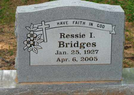 BRIDGES, RESSIE I - Pope County, Arkansas | RESSIE I BRIDGES - Arkansas Gravestone Photos