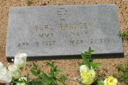 BRIDGES (VETERAN), BURL - Pope County, Arkansas | BURL BRIDGES (VETERAN) - Arkansas Gravestone Photos