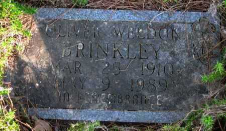 BRINKLEY, OLIVER WELDON - Pope County, Arkansas | OLIVER WELDON BRINKLEY - Arkansas Gravestone Photos
