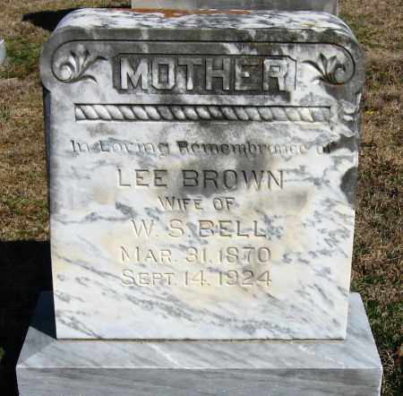 BROWN, LEE - Pope County, Arkansas | LEE BROWN - Arkansas Gravestone Photos