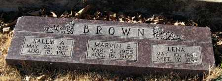 BROWN, LENA - Pope County, Arkansas | LENA BROWN - Arkansas Gravestone Photos