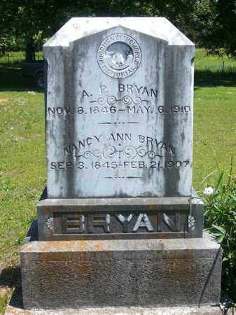BRYAN, NANCY - Pope County, Arkansas | NANCY BRYAN - Arkansas Gravestone Photos