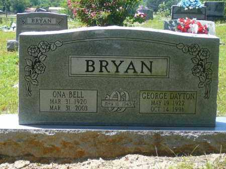WHITTENBERG BRYAN, ONA BELL - Pope County, Arkansas | ONA BELL WHITTENBERG BRYAN - Arkansas Gravestone Photos
