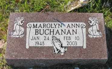 BUCHANAN, MAROLYN ANN - Pope County, Arkansas | MAROLYN ANN BUCHANAN - Arkansas Gravestone Photos