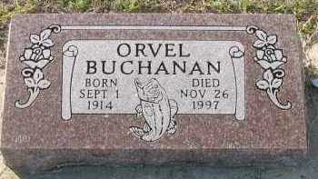 BUCHANAN, ORVEL - Pope County, Arkansas | ORVEL BUCHANAN - Arkansas Gravestone Photos