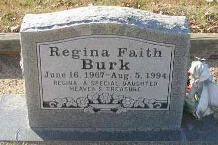 BURK, REGINA FAITH - Pope County, Arkansas | REGINA FAITH BURK - Arkansas Gravestone Photos