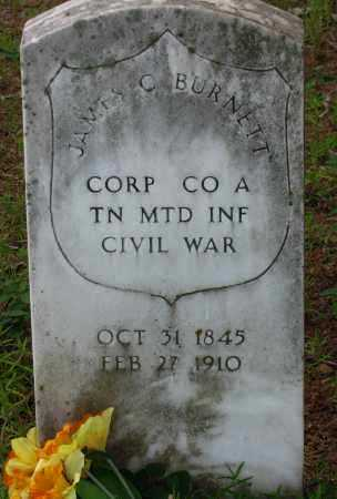 BURNETT (VETERAN UNION), JAMES C - Pope County, Arkansas | JAMES C BURNETT (VETERAN UNION) - Arkansas Gravestone Photos